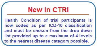 Clinical Trials Registry - India (CTRI)